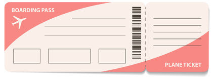 Plane Ticket Template Stock Photos, Images, & Pictures - 607 Images