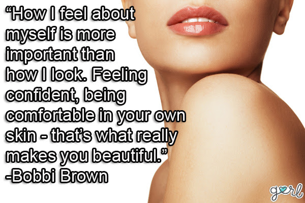 To Be Able To Feel Sexy In Your Own Skin Exercise Quote