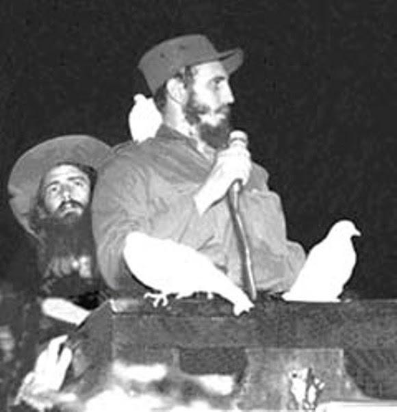 Fidel y Camilo en Ciudad Libertad, el 8 de enero de 1959