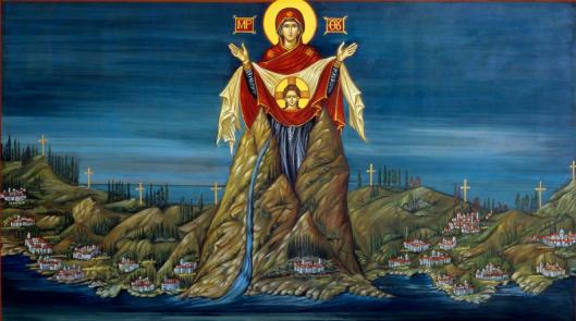 Ο γερό – Κώστας, που τον υπηρετούσε η Παναγία