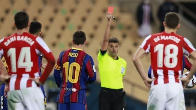 UPDATE!! Barcelona Planning To Appeal Lionel Messi's 2-Game Ban