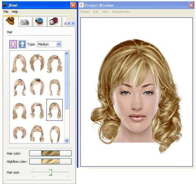 hair style software change hairstyle software hairstyles 9086