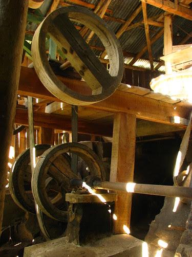 Detalhe do Interior do Moinho