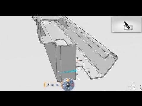 Catia V5 V6 Video Tutorials Catia V6 Bend Part Design