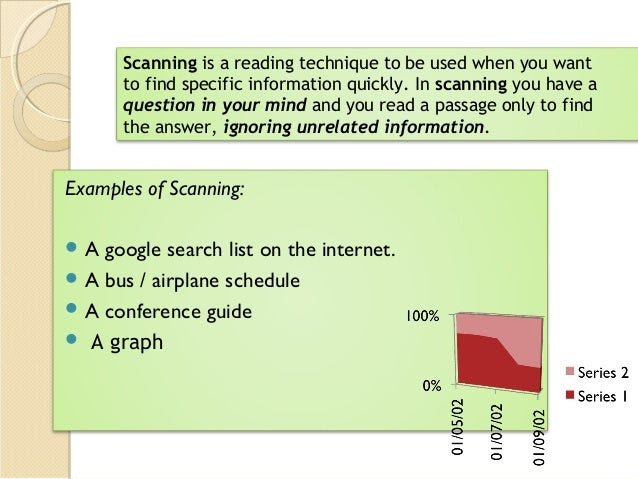 Skimming And Scanning A Key Reading Prehension Skill
