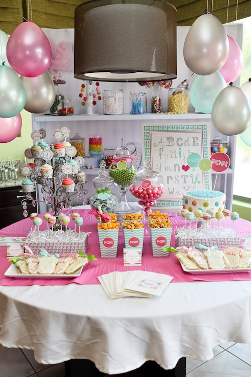 Party Reveal Ready To Pop Baby Shower