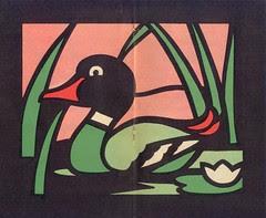 vitraux canard