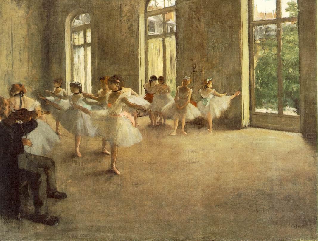Edgar Degas Famous Ballerina Paintings