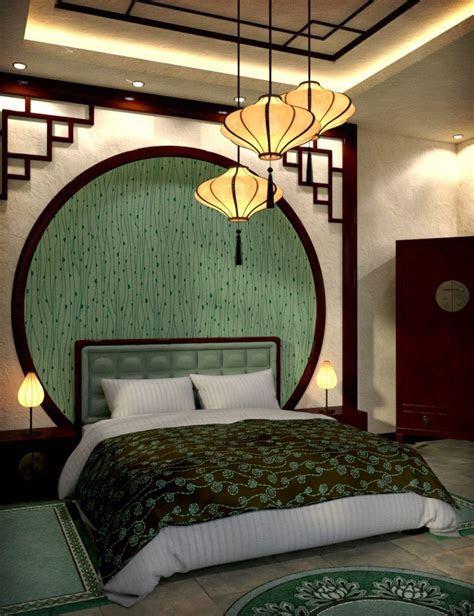 Modern Chinese Bedroom   Daz Poser   Asian home decor