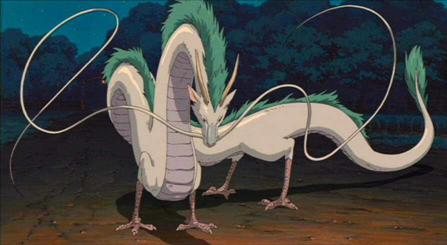 Check out these epic anime dragons, including Haku from Sen to Chihiro no Kamikakushi!