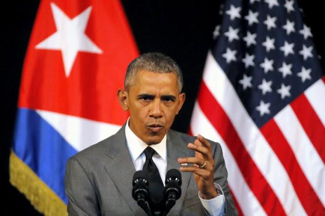 Barack Obama lors de son passage à La... (PHOTO REUTERS)