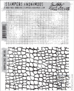 Tim Holtz Stamps Graph & Croc