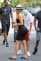 khloe kardashian tristan step out for date night 04