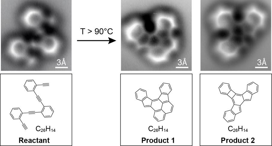 Cientistas capturam imagem de reação química pela primeira vez