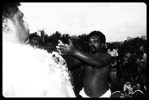Head Priest Ganesh Goes Into Extreme Possession by firoze shakir photographerno1