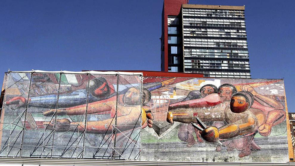 Murales De Ciudad Universitaria Obras Que Trascienden El Tiempo