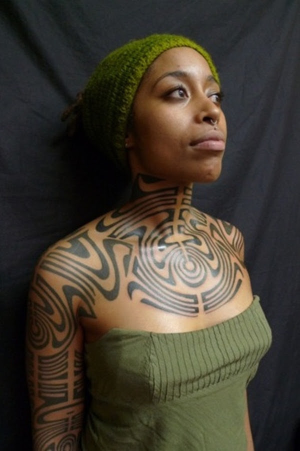 12 Magnificent African Tribal Tattoos