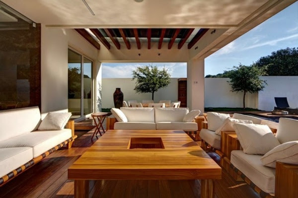 covered terrace 50 ideas for patio roof of modern houses 36 658