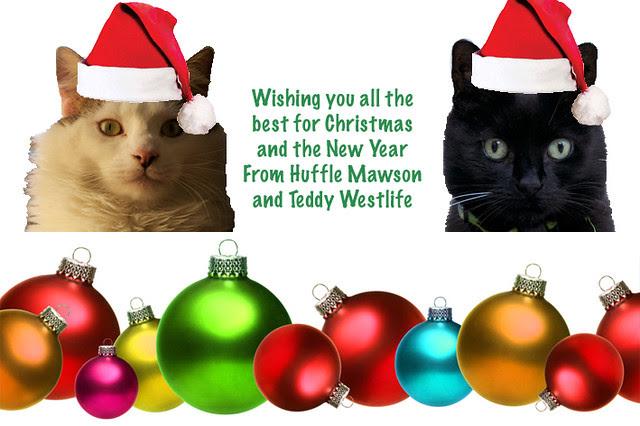 Huffle Christmas Card 2011