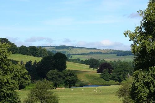 Chatsworth view across Devonshire