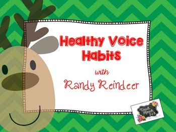 Healthy Voice Habits with Randy Reindeer