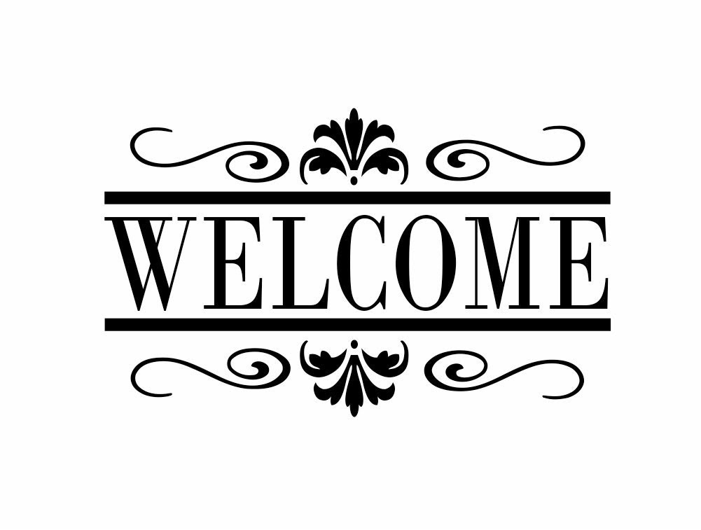Popular items for welcome wall quote on Etsy