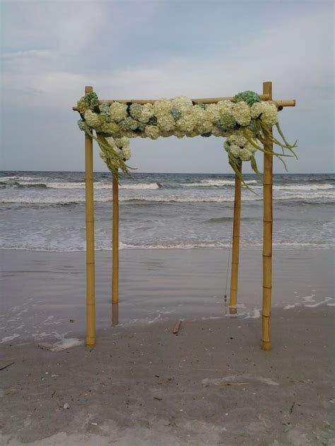 bamboo wedding arch   Wedding Ideas   Pinterest