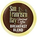 San Francisco Bay Coffee, Breakfast Blend, 80 OneCup Single Serve Cups