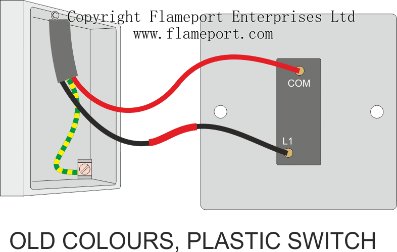 Diagram Light Switch Wiring Diagram 1 Way Full Version Hd Quality 1 Way Mentalrewiringl Sacom It