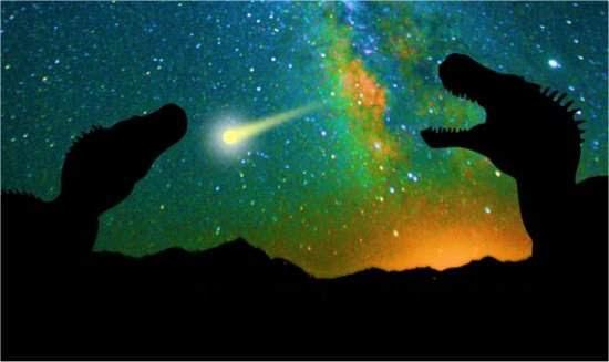 Matéria Escura pode ter causado extinção dos dinossauros?