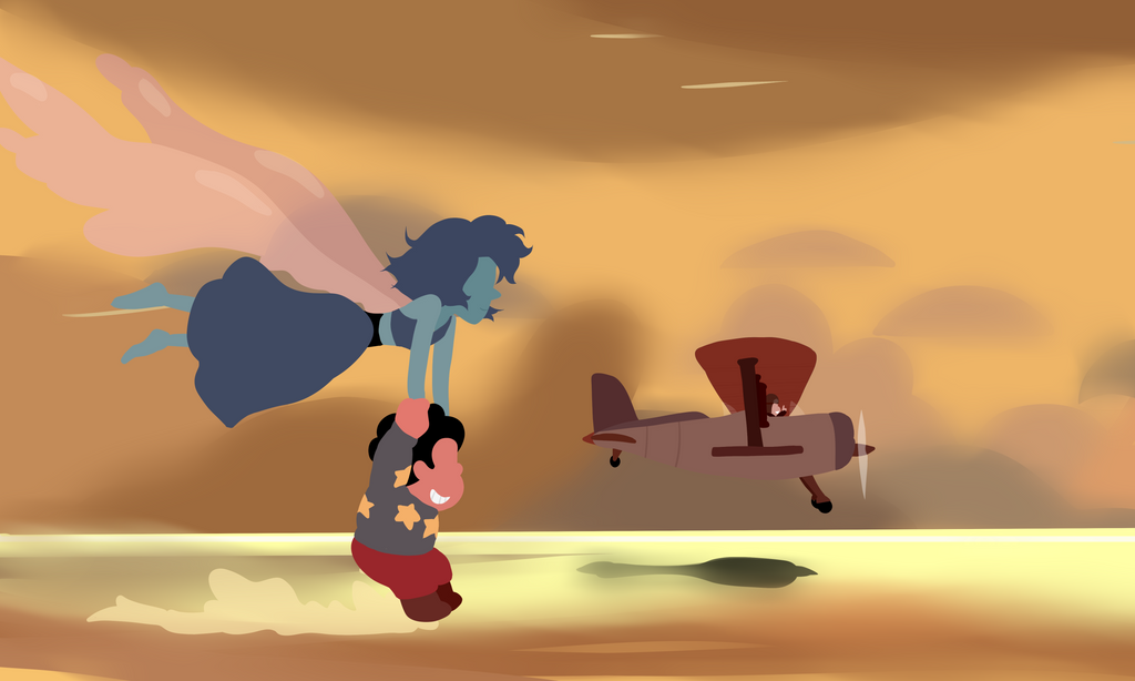 """So I was watching the """"Gem Harvest"""" and just LOVED the episode. I love it when Steven Universe gets 20 minute episodes, cause they always do greater things. While I was watching I saw this scene an..."""