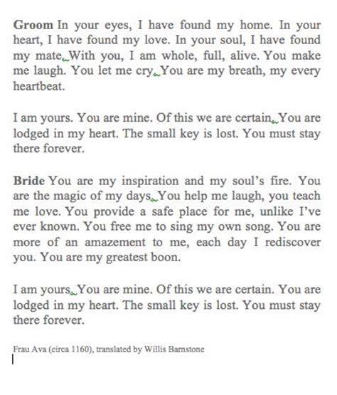 Best 25  Vows ideas on Pinterest   Wedding ceremony