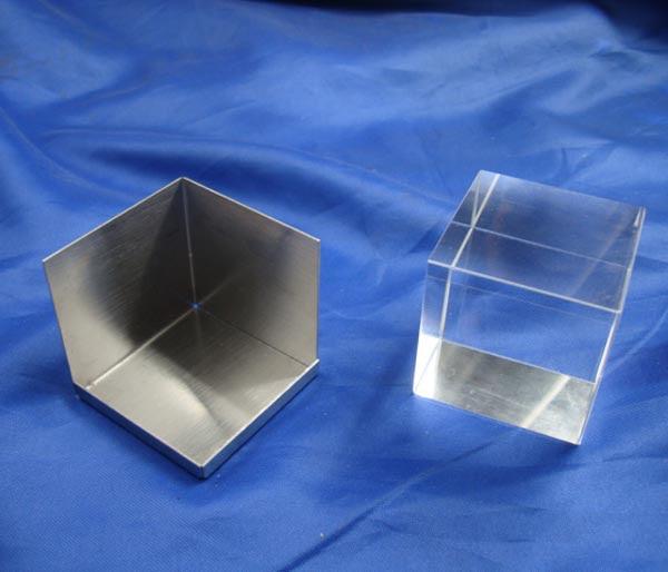 3d Kristallen Kubus Fotolijstje China Crystal Cube Fotolijst