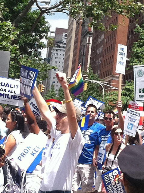 NYC Pride March 2011