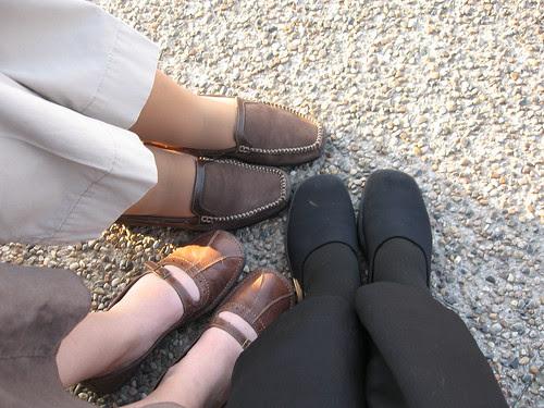 Feet at Olives