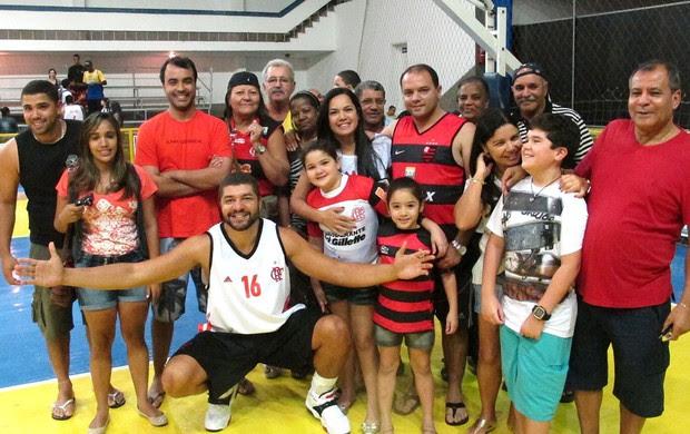 Basquete Olivinha Flamengo e Macaé (Foto: Fábio Leme)