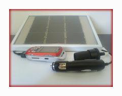 ηλιακός φορτιστής κινητού τηλεφώνου