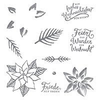 Weihnachtswunder Photopolymer Stamp Set (German) by Stampin' Up!