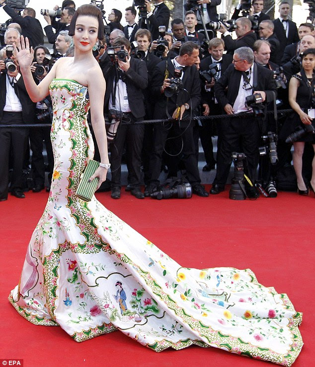Catch of the day: Chinese actress Fan Bingbing pays homage to her heritage in a Christopher Bu gown