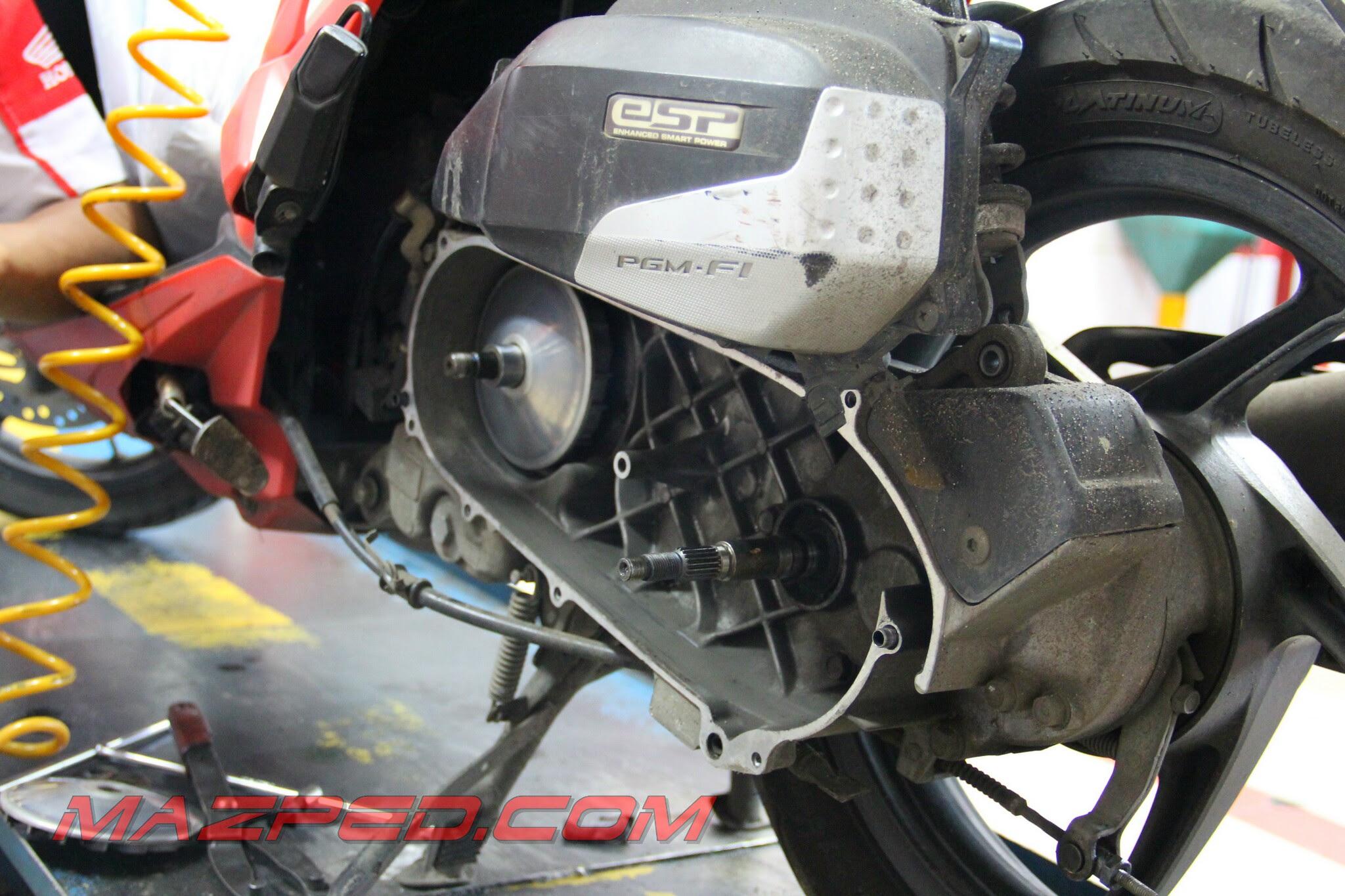 Bikin Vario 125 Makin Agresif Dengan Roller V150 MAZPEDiaCOM