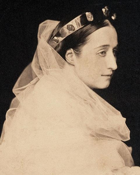 File:L'impératrice Eugénie, 1856, Gustave Le Gray detail.jpg