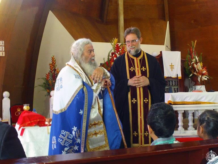 Πρώτη Ορθόδοξη Θεία Λειτουργία στα νησιά Τόνγκα (23 Νοεμβρίου 2014)