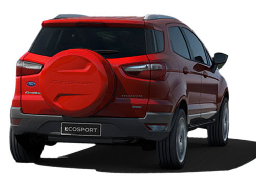 Ford Ecosport Rear Angle View