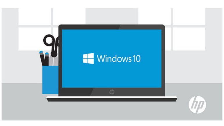 HP enviará equipos Windows 10 desde el 28 de julio