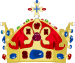 Crown of St. Wenceslas.svg