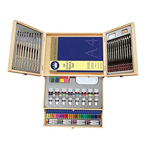 deluxe art set painting drawing set  piece