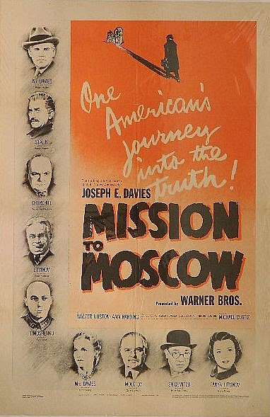 Movie Poster - ''Mission to Moscow''