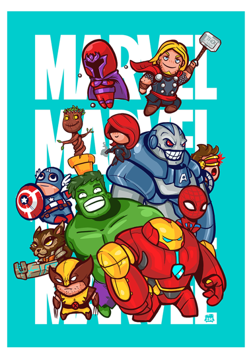 Marvel TributeCreated by 2Minds Studio