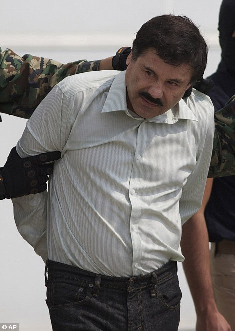 Joaquín 'El Chapo' Guzmán escaped from prison in Mexico in July and has been on the run since