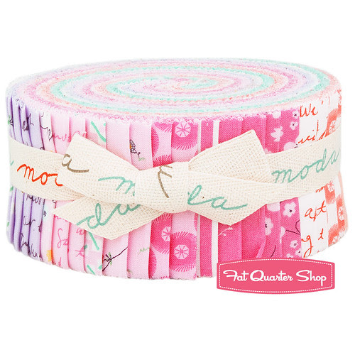 Posy Jelly Roll Giveaway for Friday's Fabric Giveaway with FQS!!!